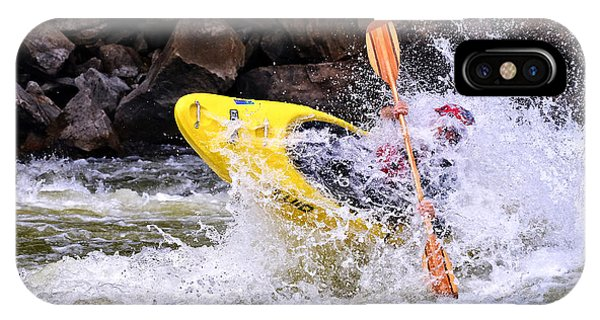 Whitewater On The New River IPhone Case