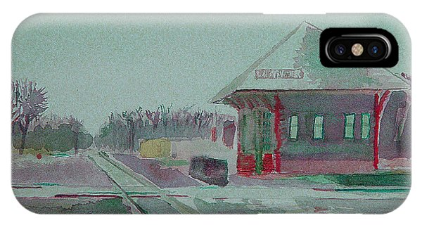 Whitewater Rail Station IPhone Case