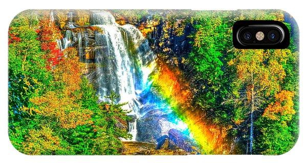 Whitewater Rainbow IPhone Case