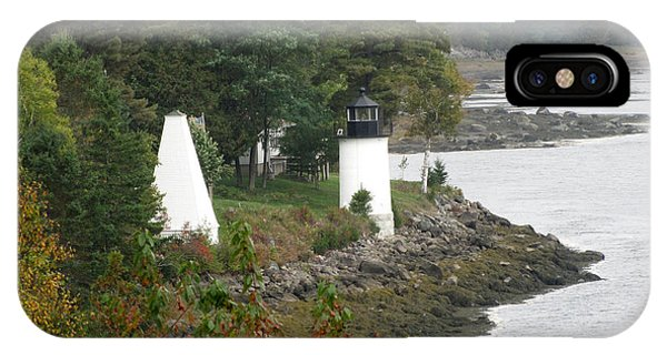 Whitlock Mill Lighthouse IPhone Case