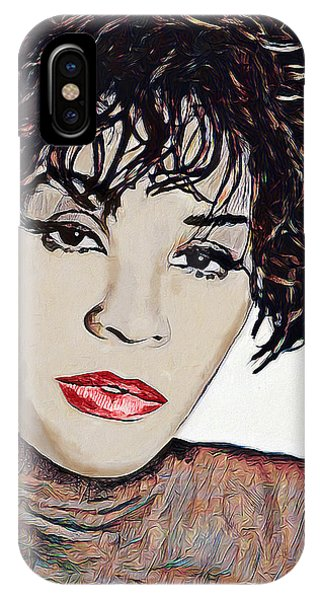 Whitney IPhone Case