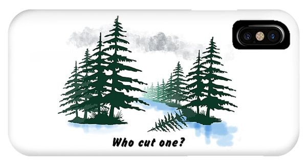 iPhone Case - Who Cut One? by Julie McCall