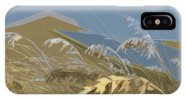 IPhone Case featuring the digital art Who Has Seen The Wind? by Gina Harrison