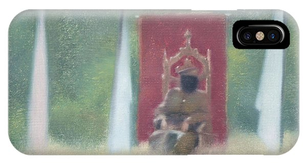 Fantasy Realistic Still Life iPhone Case - Who Is The King Of Your Life by Weiyu Xia