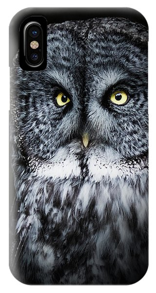 Whooo Are You Looking At? IPhone Case