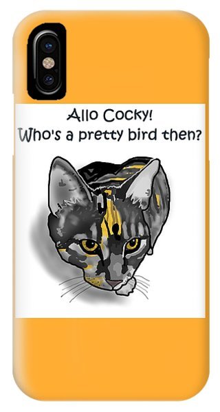 iPhone Case - Who's A Pretty Bird Then? by Joan Stratton