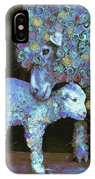 Whose Little Lamb Are You? IPhone Case