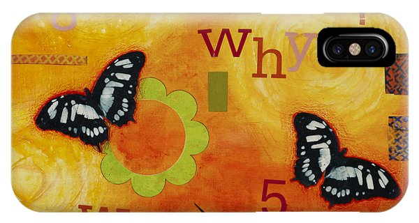 Spirituality iPhone Case - Why by Gloria Rothrock