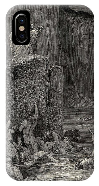 iPhone Case - Why Greedily Thus Bendest More On Me Than On These Other Filthy Ones Thy Ken Gustave Dore by Eloisa Mannion