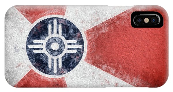 Wichita City Flag IPhone Case