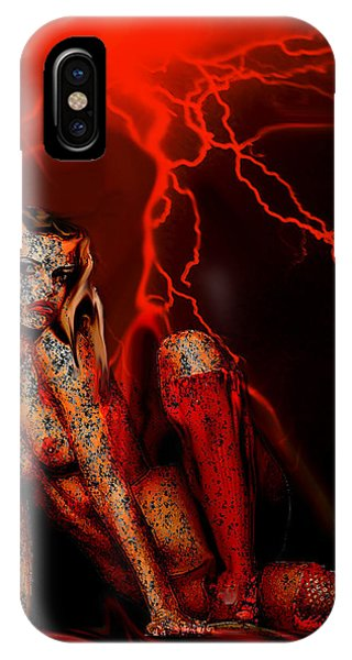 Wicked Beauty IPhone Case