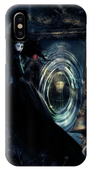 Gothic iPhone Case - Wicked Queen by Shanina Conway
