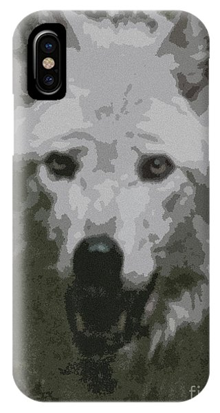Wide Eyes Vision IPhone Case