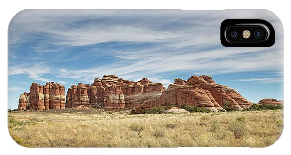 Wide Open Spaces Of Utah IPhone Case