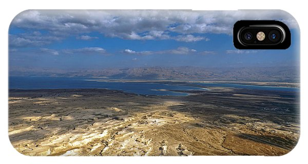 Wide View From Masada IPhone Case