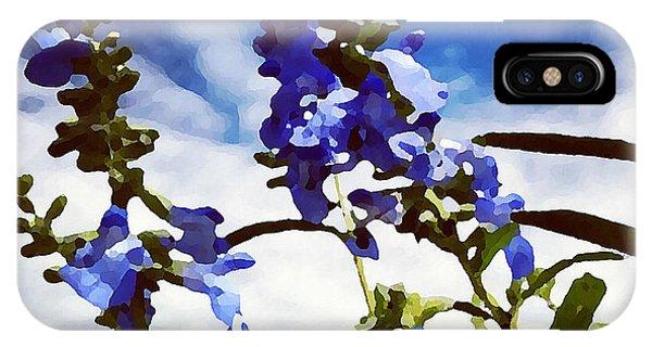 Wild Blue Sage  IPhone Case