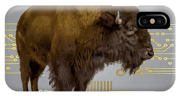 The American Buffalo IPhone Case
