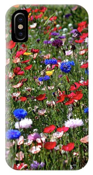 Wild Flower Meadow 2 IPhone Case