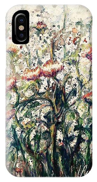 Wild Flowers # 2 IPhone Case