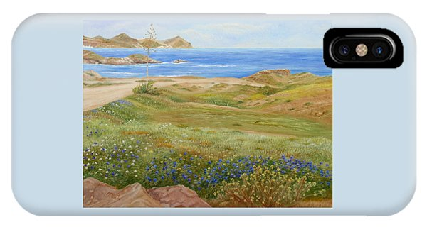 IPhone Case featuring the painting Wild Flowers by Angeles M Pomata
