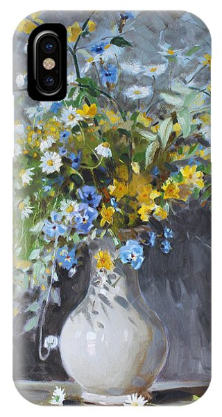 Daisies iPhone Case - Wild Flowers by Ylli Haruni