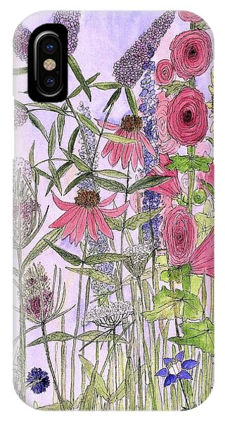 Wild Garden Flowers IPhone Case