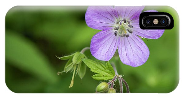 Wild Geranium IPhone Case