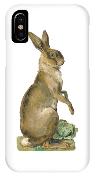 IPhone Case featuring the digital art Wild Hare by ReInVintaged
