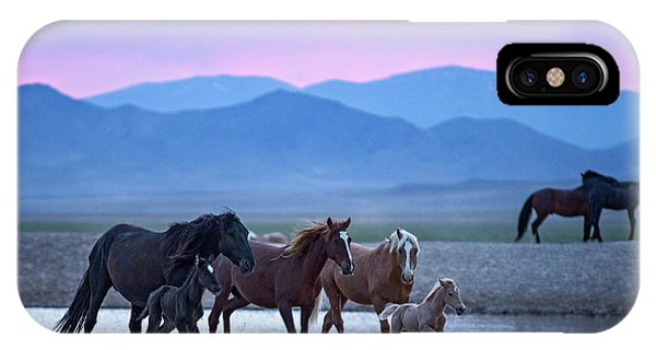 Wild Horse Sunrise IPhone Case