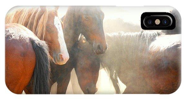 Wild Horses - Australian Brumbies 2 IPhone Case