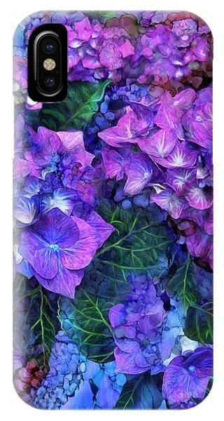 Wild Hydrangeas IPhone Case