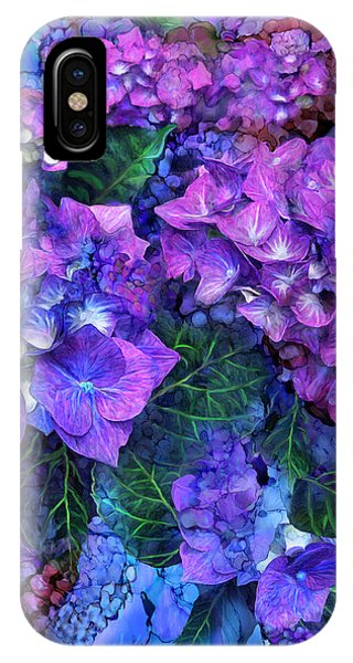 Wild Hydrangeas IPhone Case