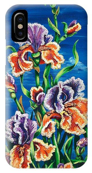 Wild Iris IPhone Case