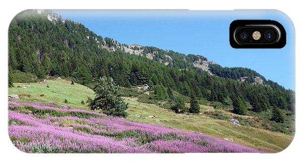 Wild Lavender IPhone Case