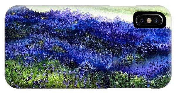 Wild Lavender IPhone Case