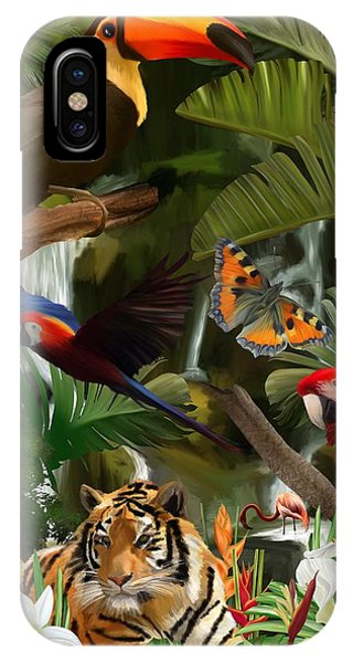 IPhone Case featuring the digital art Wild by Mark Taylor