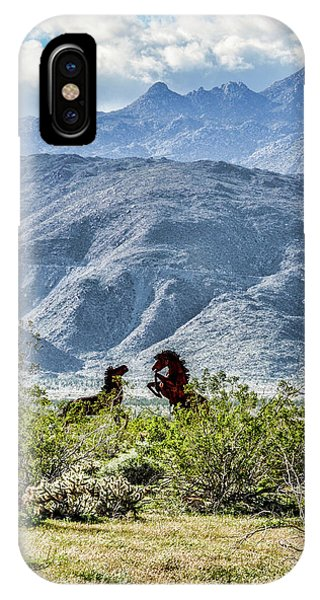 Wild Metal Mustangs IPhone Case