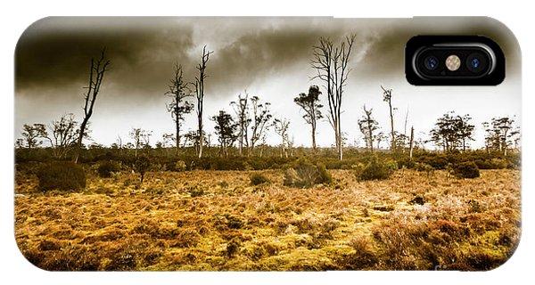 Farmland iPhone Case - Wild Moors  by Jorgo Photography - Wall Art Gallery