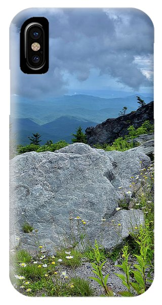 Wild Mountain Flowers IPhone Case