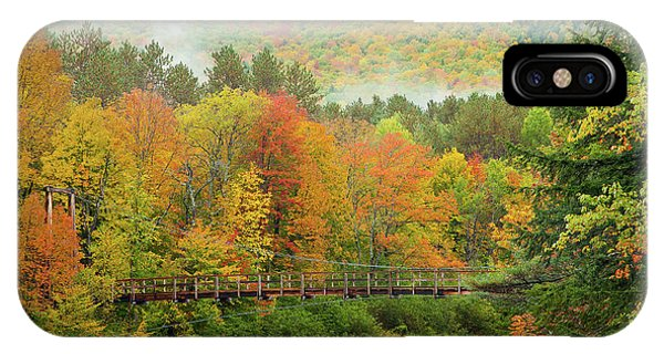 Wild River Bridge IPhone Case
