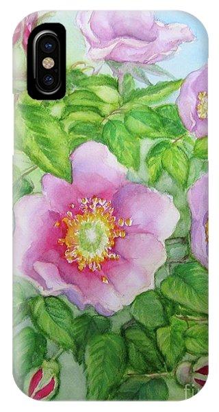 Wild Rose 3 IPhone Case