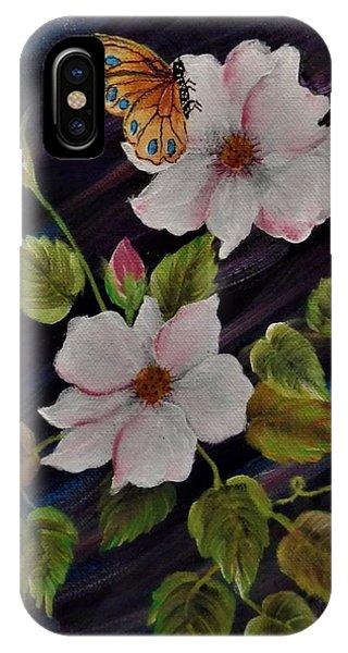 Wild.  Roses IPhone Case