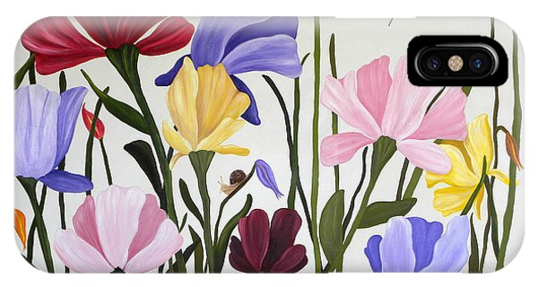 Wild Tulips IPhone Case