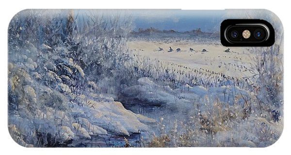 Wild Turkeys IPhone Case