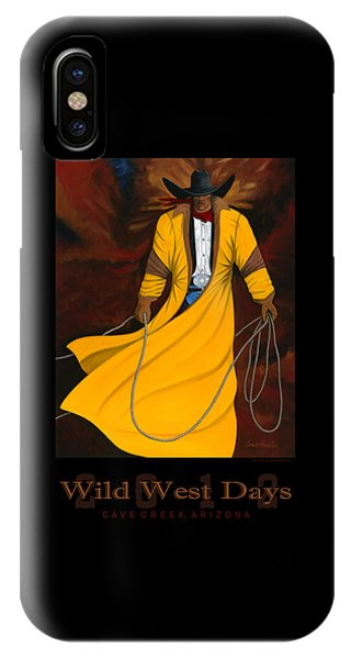 Wild West Days 2012 IPhone Case