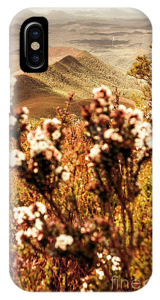 Greenery iPhone Case - Wild West Mountain View by Jorgo Photography - Wall Art Gallery
