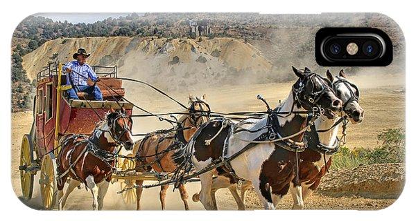 Wild West Ride IPhone Case