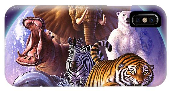 Mammal iPhone Case - Wild World by Jerry LoFaro