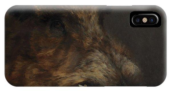 Wildboar Portrait IPhone Case