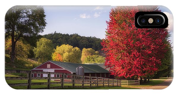 Wildcat Hollow Farm IPhone Case